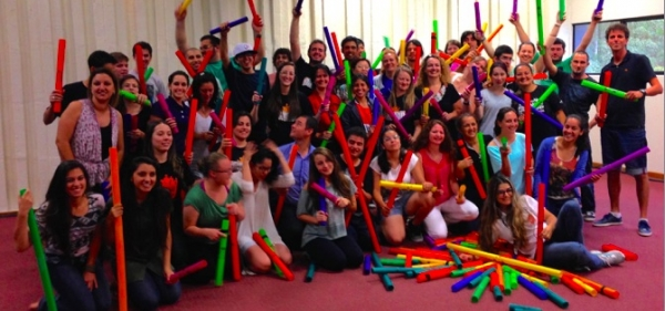 Os Boomwhackers!