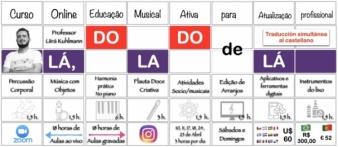 LÁ, DO LADO DE LÁ - Curso Online para maestros de educación musical